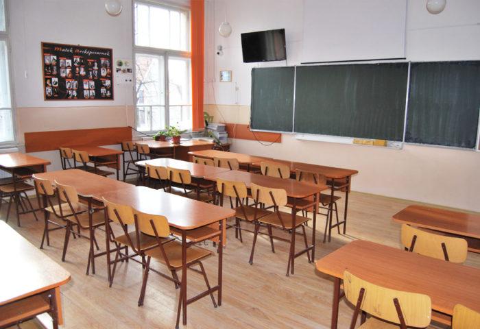 Salamon Ernő - matematika terem